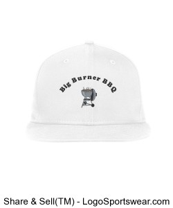 Big Burner BBQ New Era - Flat Bill Adjustable Cap Design Zoom