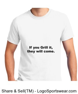 Customizable BBQ Design-You Change The Colors And Text Design Zoom