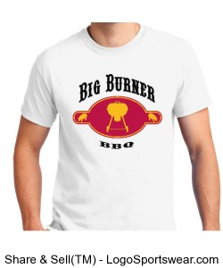 "Big Burner BBQ ""Kettle"" T-Shirt Design Zoom"